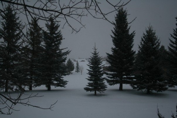 My old view in Lethbridge Alberta... i miss that condo for that alone