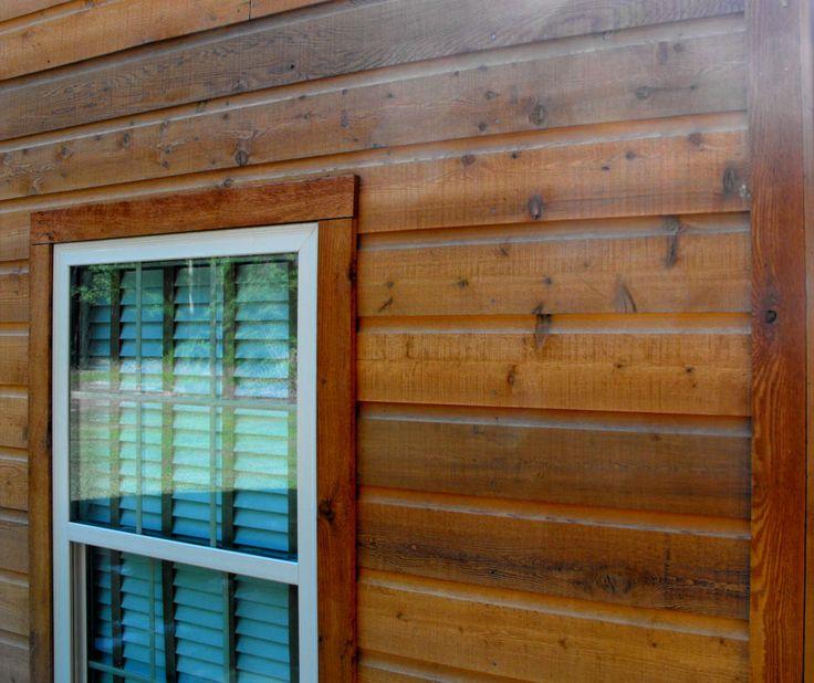 Dutch Lap Siding * Dutch Lap Cedar Siding Home * Pictures and Story