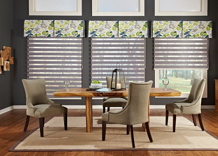 nice colorful modern valance with light filtering sheer shades bedroom window