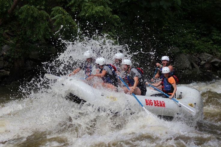 Big Bear Rafting so much fun!