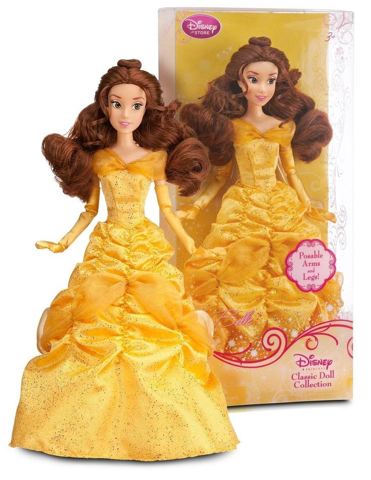 AmazonSmile: Disney Princess Belle Doll -- 12'': Toys & Games