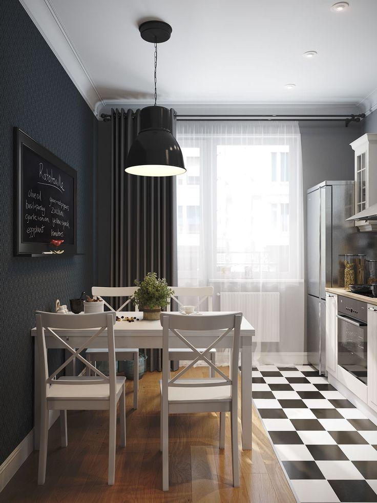 Однокомнатная квартира с мебелью из ИКЕА