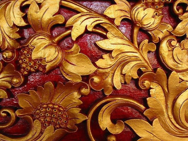 the carvings of Bali
