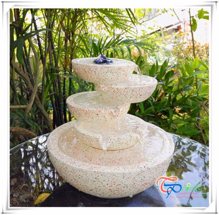 Resin Mini Tabletop Waterfall Bowls Water Fountain   Buy Waterfall Fountain,Mini  Water Fountain Product
