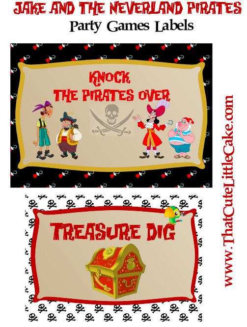20+ Jake and the Neverland Pirates Party Ideas 2017