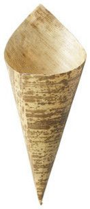 Bamboo Studio Large Bamboo Cone 50/pk - transitional - food containers and storage - by PaperlessKitchen