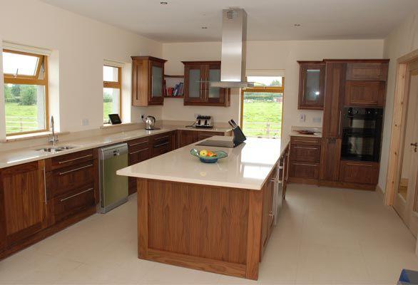 kitchen designs photo gallery | Walnut Kitchens Limerick - Dovetail Walnut Kitchen Design Ireland