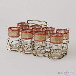 S/8 Modernique Glasses with Caddy