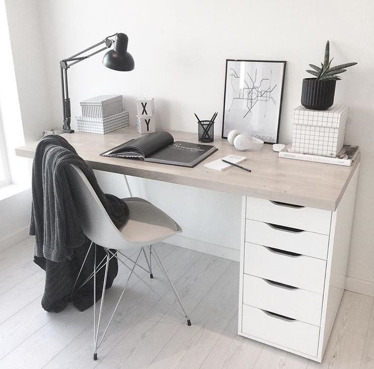 Simple desk design // work from home
