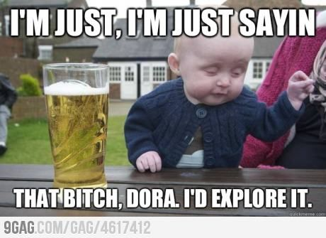 :D: Funny Pictures, Drunkbaby, Quote, Baby Memes, Drunk Baby, Funny Stuff, Funny Baby, True Stories, Kid