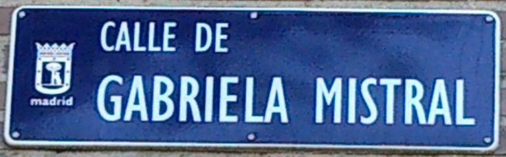 Calle gabriela mistral distrito fuencarral el pardo for Calle mistral