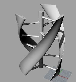 Printable wind turbine