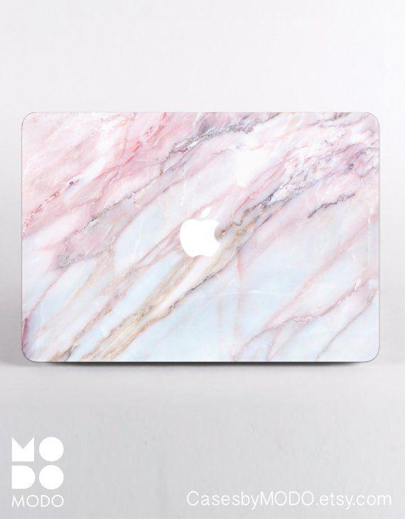 Pink Marble Macbook Pro 13 2019 Macbook 12 Case Macbook Air Etsy Marble Macbook Macbook Pro Macbook Hard Case