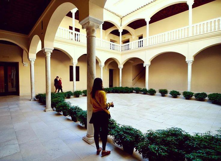 Foto de @sukyeong.you en Instagram 피카소 미술관에 유명한 작품은 없지만 그래서 더 좋았다🎨  -  -  #여행 #여행스타그램 #청춘여행 #유럽여행 #스페인 #스페인여행 #말라가 #피카소미술관 #유디니 #유디니_스페인 #여행에미치다 #여행에미치다_스페인 #picasso #oldcity #traveling #travelgram #malaga #trip #instatravel #museopicasso #pablopicasso