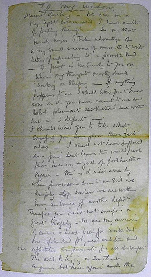 100 yrs ago, Captain Scott reached the South Pole, never to return. This is his heartbreaking last letter to his wife.