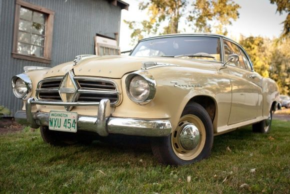 Seller Submission: 1958 Borgward Isabella Coupe - similar to my 62/63 Silver Blue Isabella.  Oh I loved that car!