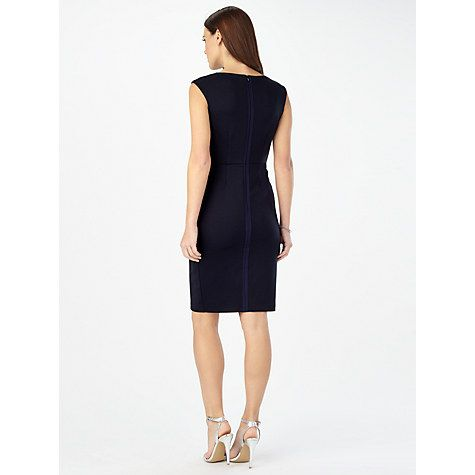 Buy Phase Eight Camilla Rose Floral Dress, Navy Online at johnlewis.com