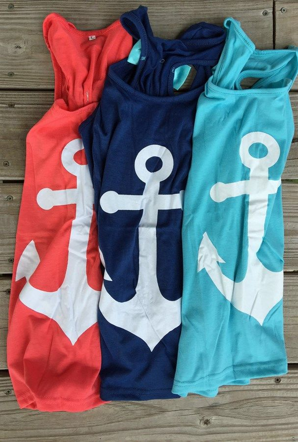 Anchor Bow Tank | 3 Colors! | Jane