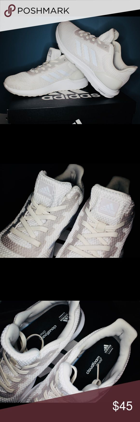 Adidas Cloud Foam Sneakers Adidas CloudFoam Sneakers. Worn twice they are in great conditions and they are an off white almost beige color. adidas Shoes Sneakers