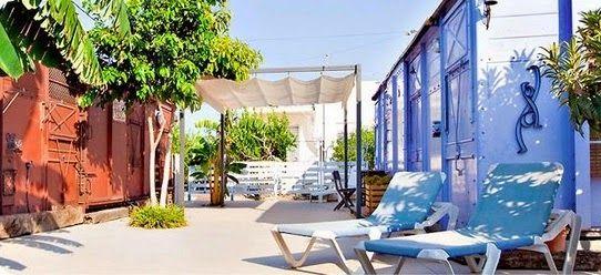 Alojamientos chulos para dormir con niños.  www.conlosninosenlamochila.com