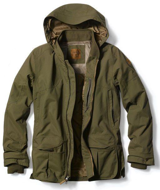 New Eddie Bauer Shooting Hunting Jacket Hunter Green Sport Shop Waterproof   eBay