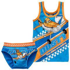 DISNEY PLANES ~ Vest & Underwear Set | Little Gecko