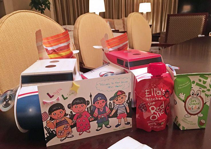 Kids welcome gift - Four Seasons Hotel Macau