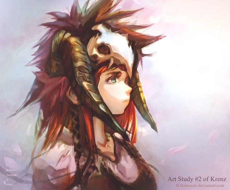 Krenz Art, Hitokiri Battousai on ArtStation at https://www.artstation.com/artwork/gGwgZ