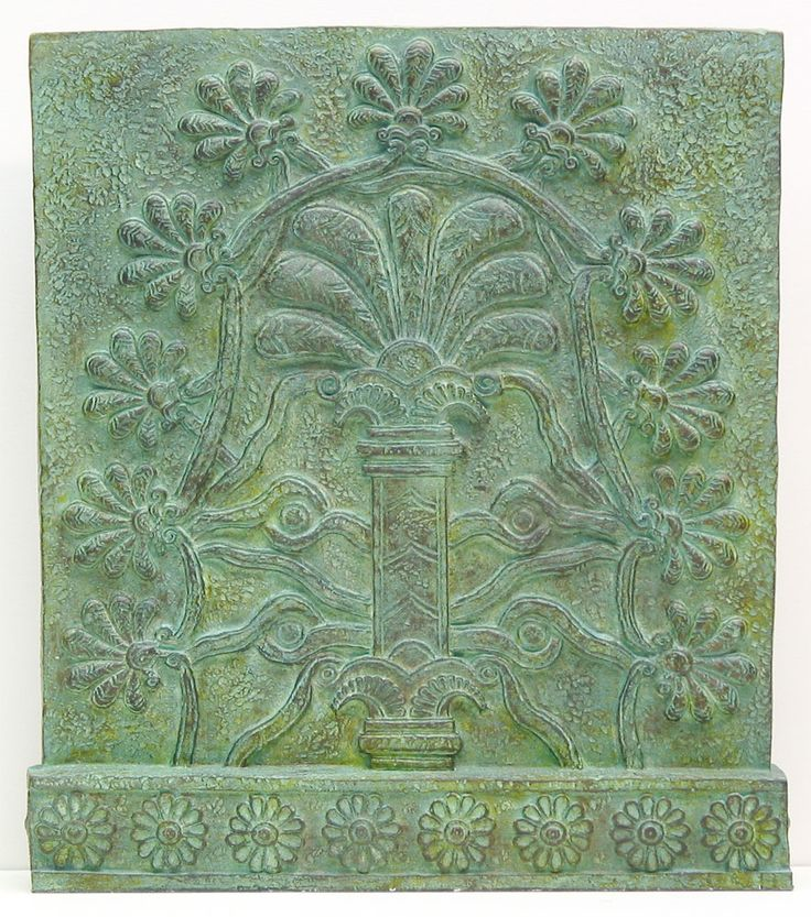 Carved Assyrian Tree of Life - saw this @ British Museum...couldn't get it out of my mind.