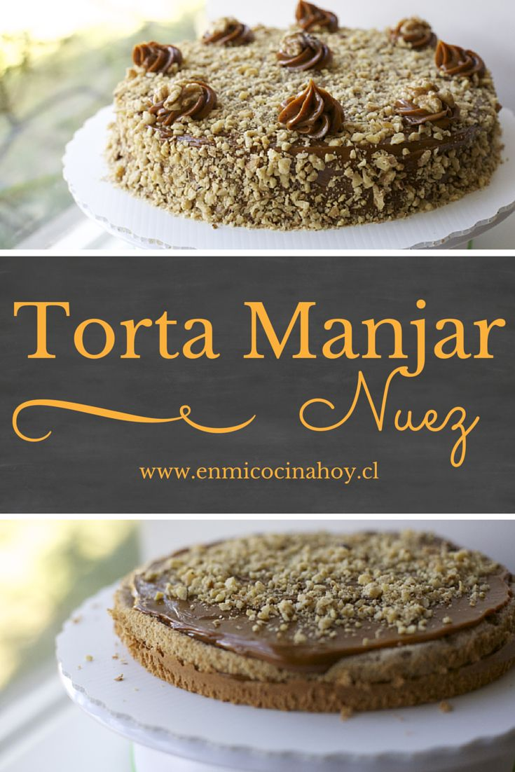 La torta manjar nuez es súper tradicional en Chile, una de las favoritas. Esta…