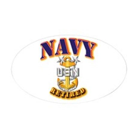 NAVY - MCPO - Retired Decal on CafePress.com