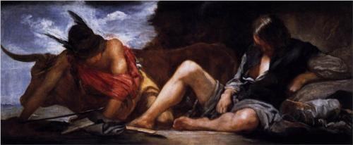 Mercury and Argus - Diego Velazquez
