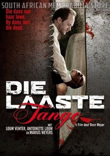 DIE LAASTE TANGO - Marius Weyers - South African Afrikaans DVD *NEW* - South African Memorabilia Store