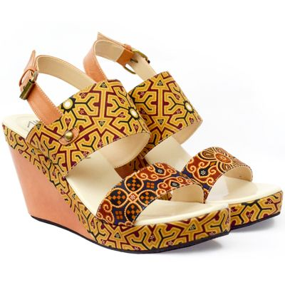 lovely batik wedges