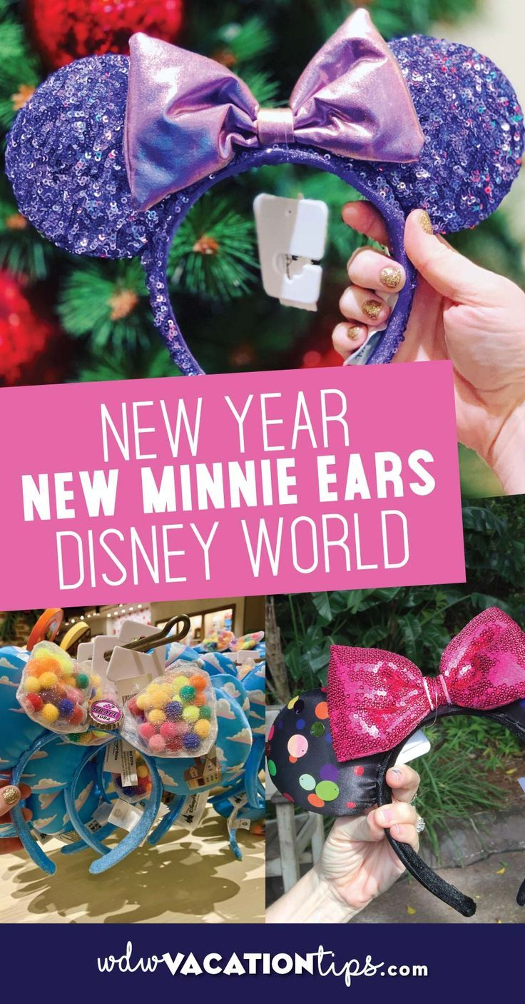 Christmas Minnie Ears 2019.New Year New Minnie Ears At Disney World All Things