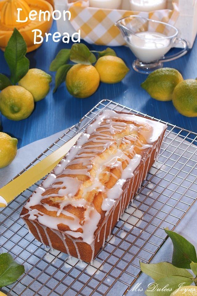 Lemon Bread (Pan de limón) - Mis Dulces Joyas