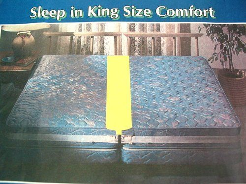 Twin Bed Joiner Matress Connector By Regal 8 99 Includes 4 Separate Pieces Combined To Join Two Mattressess Into One King Each Piece About