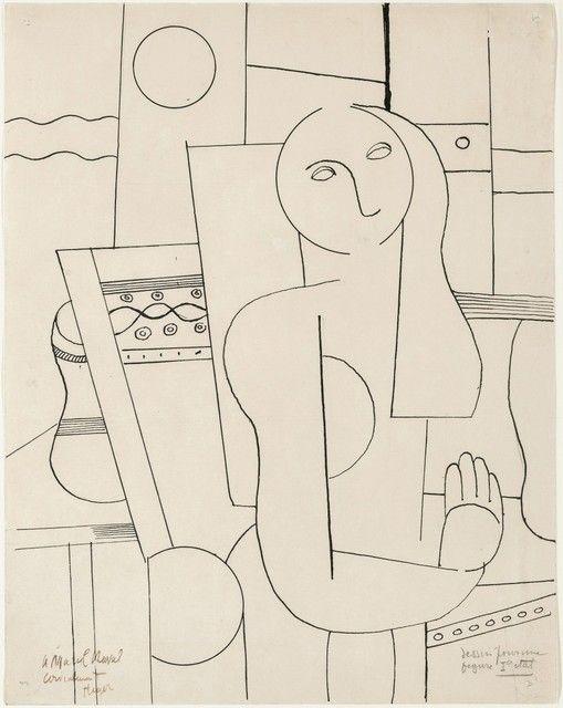 Fernand Léger, 'Dessin pour une figure,' 1922, Galerie Thomas