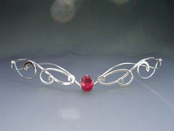 Celtic Elven Circlet, Wedding Bridal Headpiece Tiara, Medieval Fairytale Renaissance Headdress - Forever My Heart