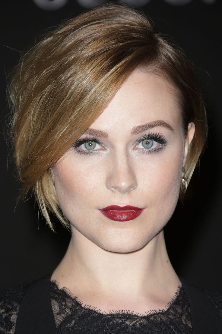 Evan Rachel Wood - growing out option
