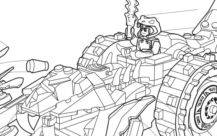 LEGO Ninjago 70745 coloring sheet LEGO Coloring Sheets