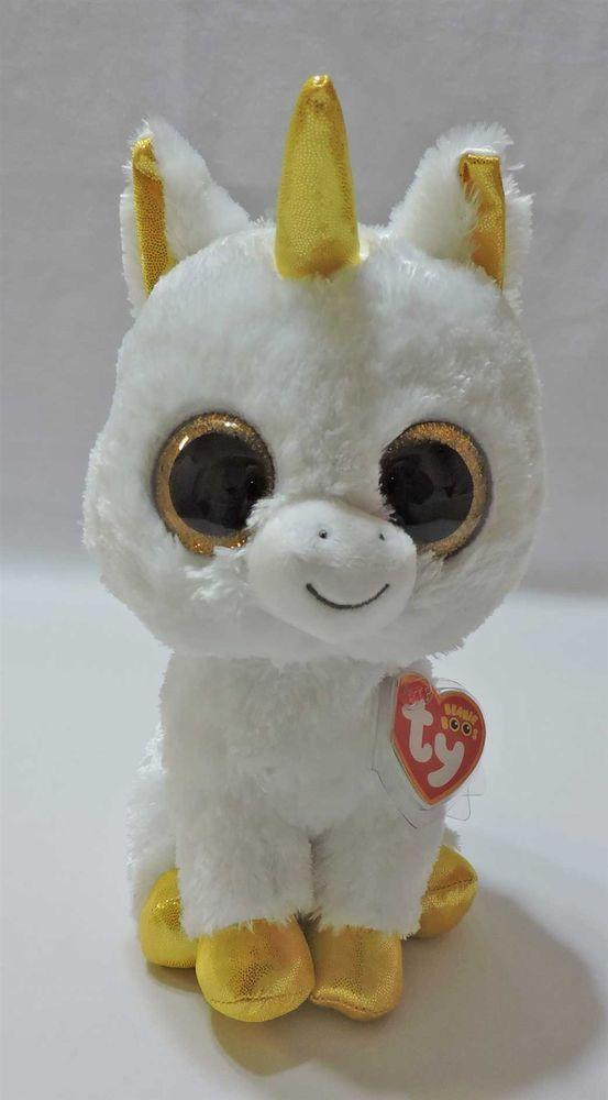 0ee3e1db613 Ty Beanie Boos Pegasus Unicorn Claire s Exclusive 9