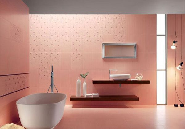 15 Chic And Pretty Pink Bathroom Designs Home Design Lover Pink Bathrooms Designs Bathroom Design Pink Bathroom Tiles