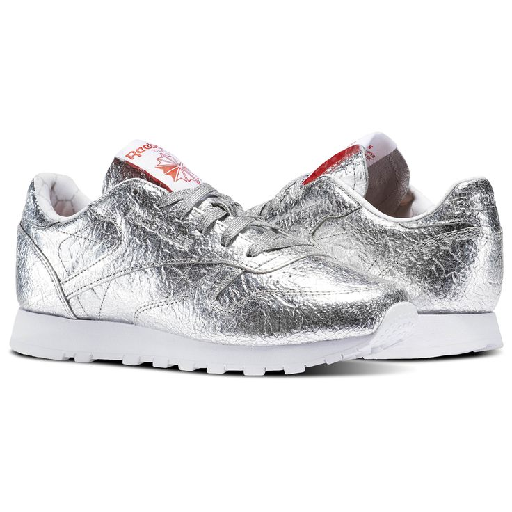 The Reebok Classic Leather Silver Met Looks Like A Wrapped Burrito