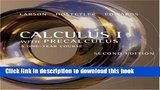 Read Books Calculus I with Precalculus: A One-Year Course ebook textbooks