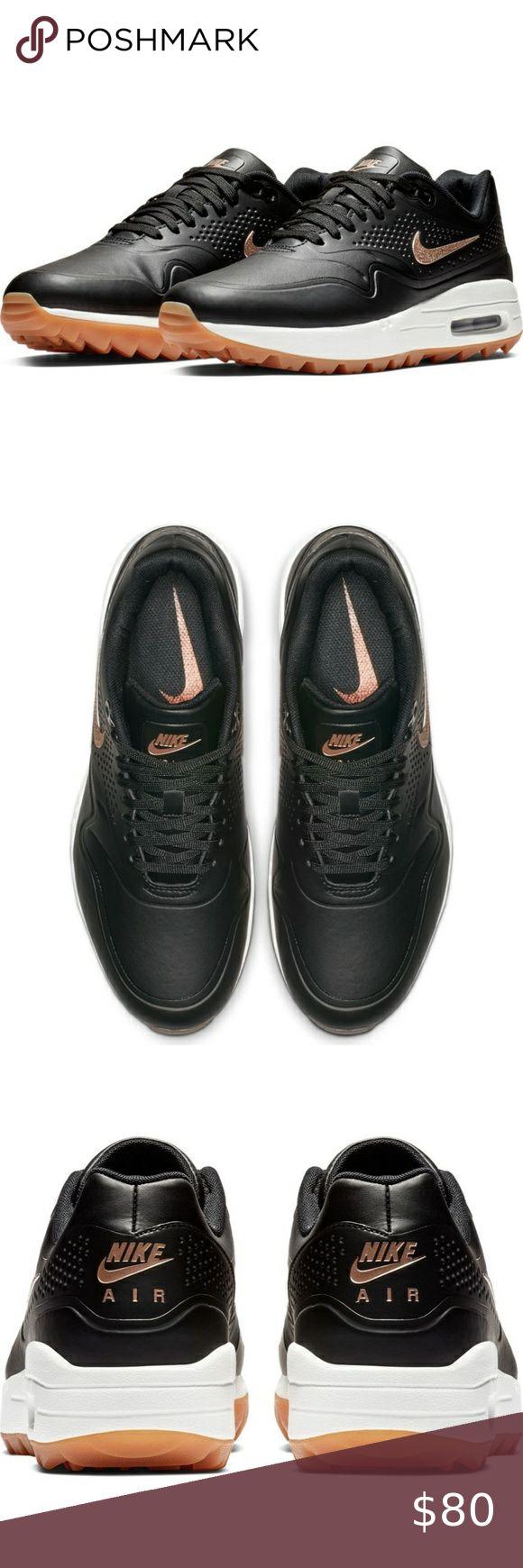 New Nike Air Max 1 G Golf Shoes AQ0865-002 Black   Nike air max ...