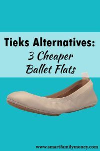 Are you curious about Tieks ballet flats, but don't want to spend that much on a pair of shoes? Here are three cheaper options for a Tieks alternative!