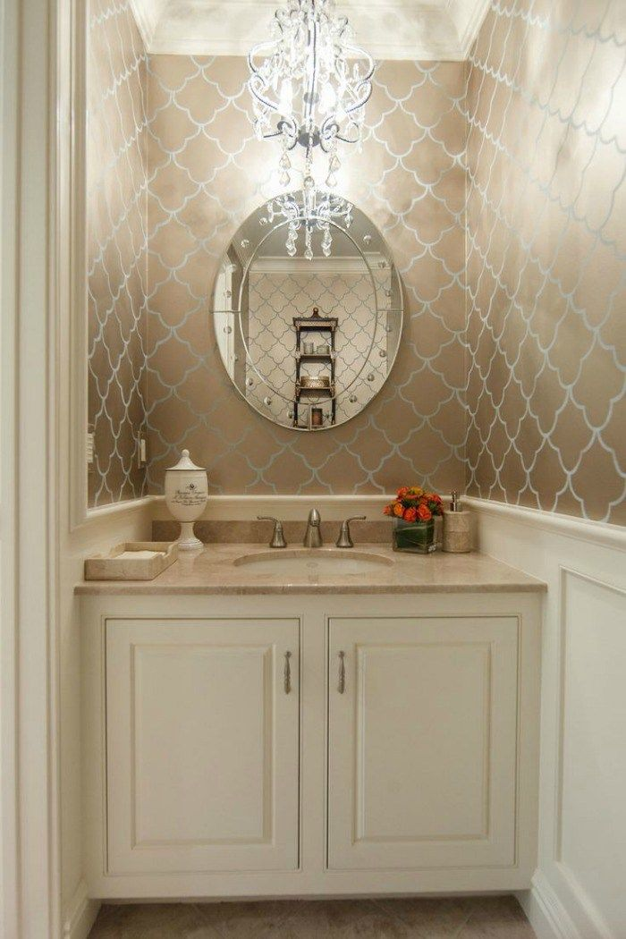 The Most Beautiful Powder Rooms Ever With Images Glamorous