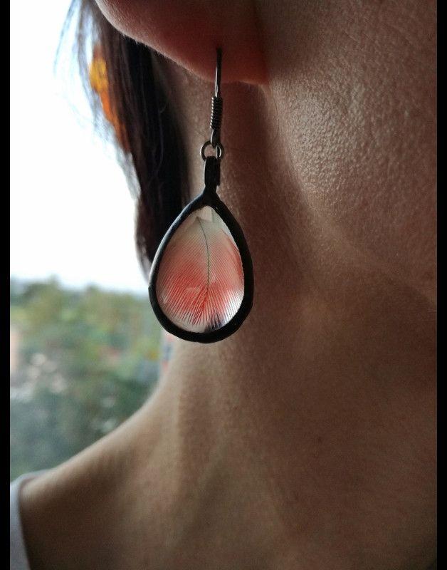* Einer seiner Art * Erstellt in meinem Heimstudio . Tifanny Verfahren - umweltfreundliche Zinn mit Silber dotiert ** Glasterrarium Ohrringe. Dekoriert im Retro-Ästhetik erinnert an antike Art...