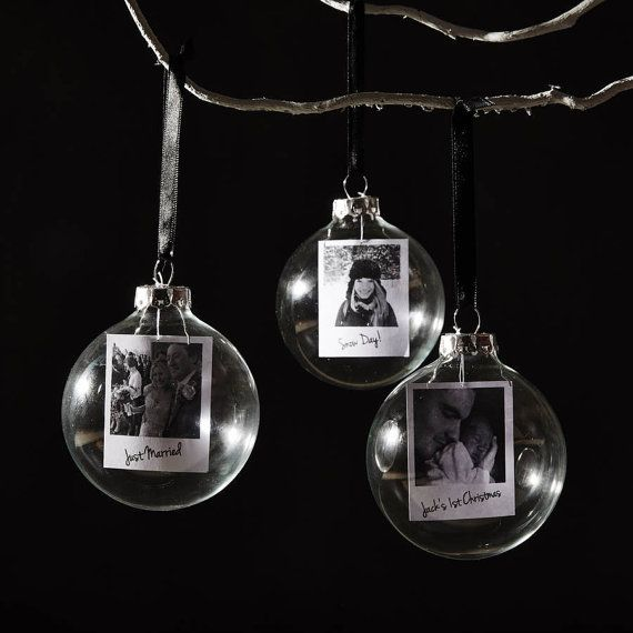A beautiful Personalised Photo Christmas Bauble. Display your favourite memories in your home. Each bauble features your own photograph printed